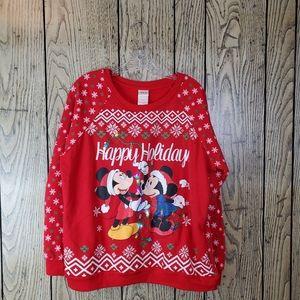 Disney Mickey Minnie Mouse Light Up Christmas XL